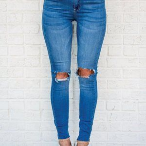 Judith March Jeans High Waist Skinny 27 - N564